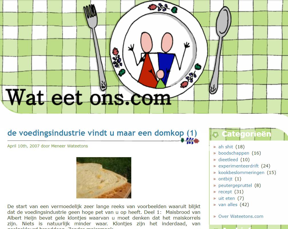 Restyle wateetons.com, of hoe verdien ik 14 euro.