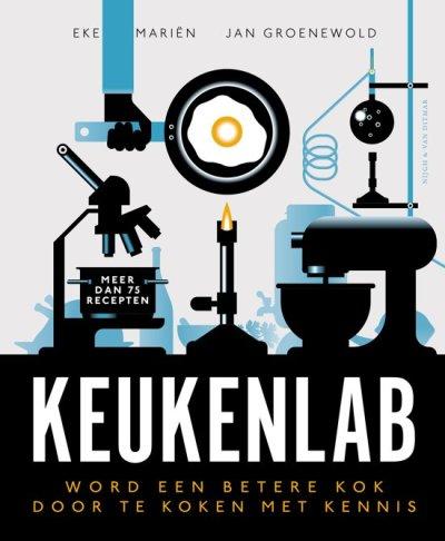 Meneer leest een boek: Keukenlab – Eke Mariën en Jan Groenewold