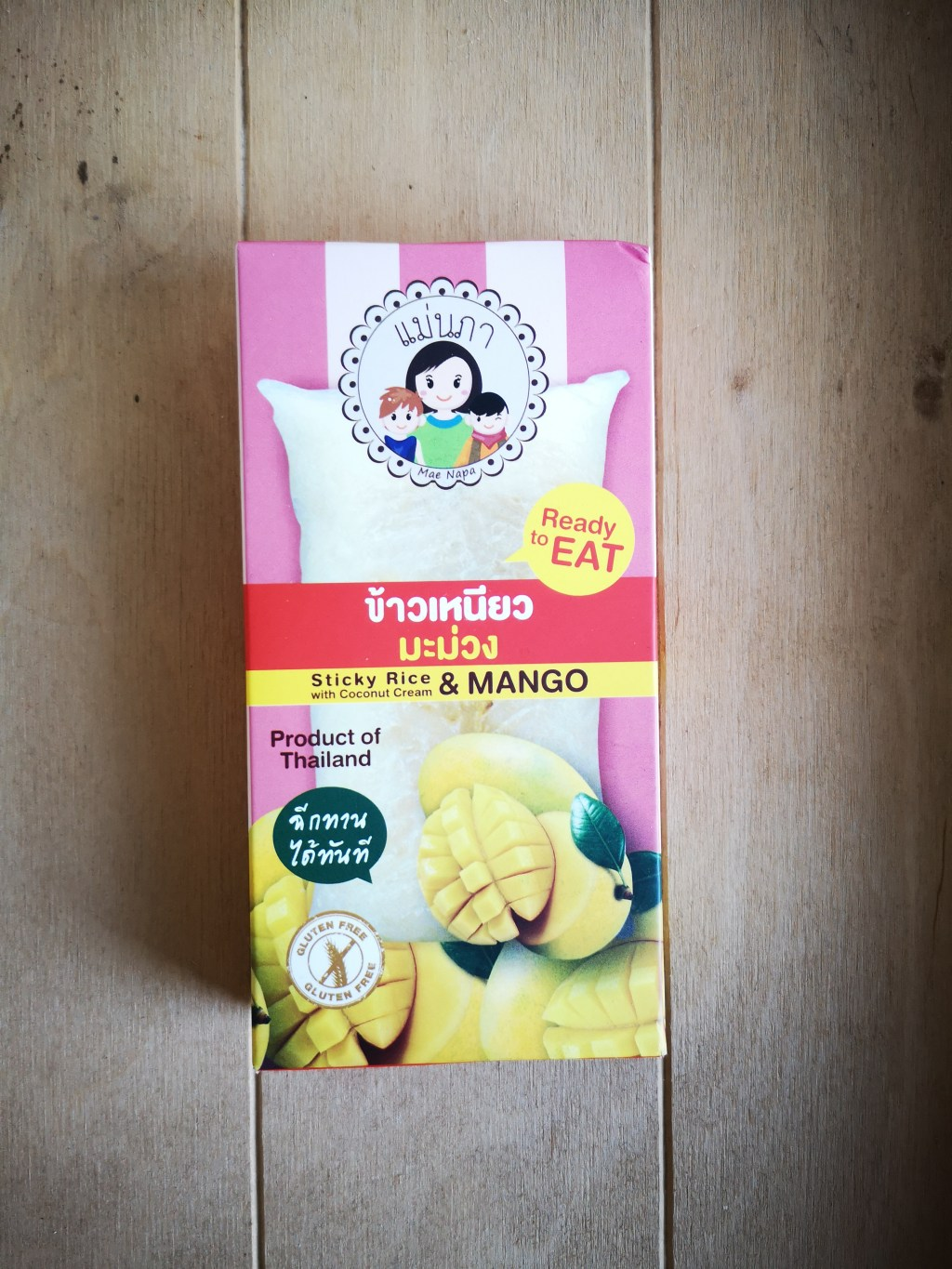 Tokovondst van de week: mango sticky rice