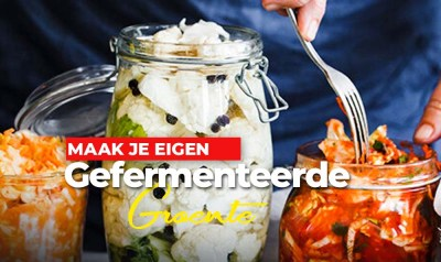 Online on demand workshop 'leren groente fermenteren'