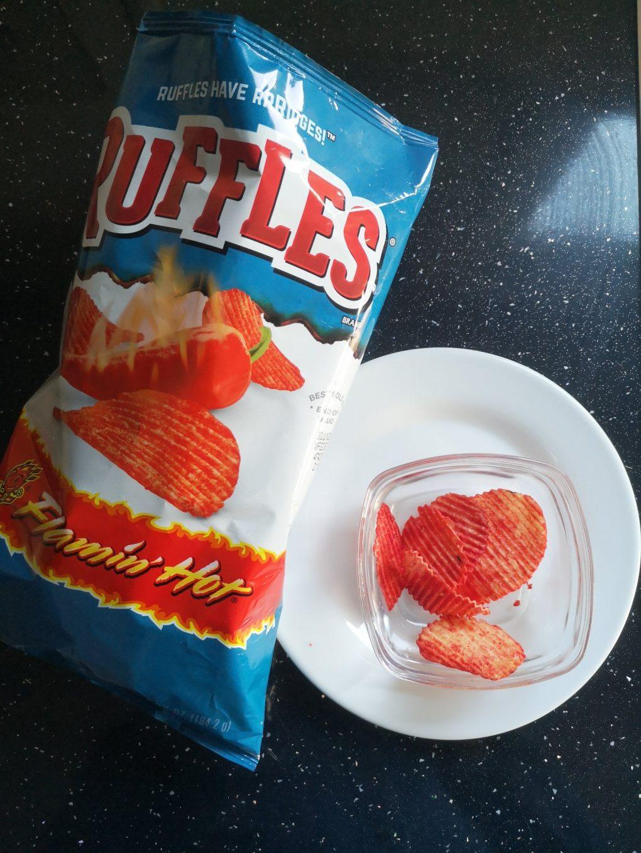Chips van de week: Ruffles flamin' hot