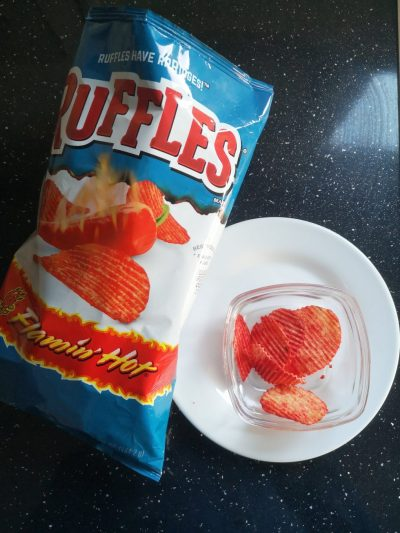Chips van de week: Ruffles flamin' hot