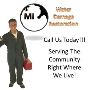 Algonac MI Water Damage Service
