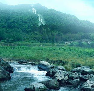 Ecuador, Vilcabamba longevity valley -natural ionized water