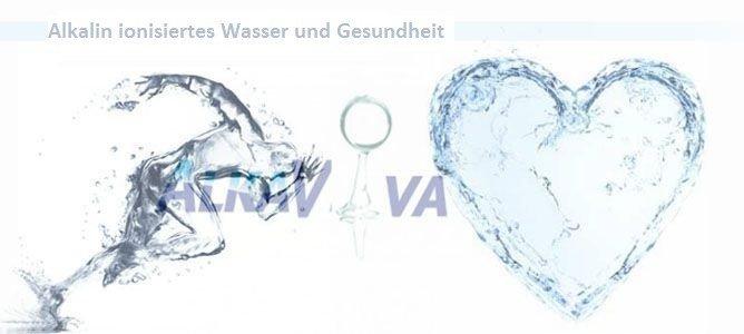 Alkalin ionisiertes Wasser, LEBENDIGES Wasser und Gesundheit