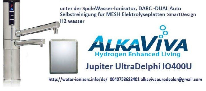ULTRADELPHIIO400u wasser ionisierer