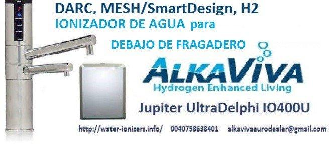ionizador de agua debajo de fragadero alkaviva jupiter delphi io400u 2016