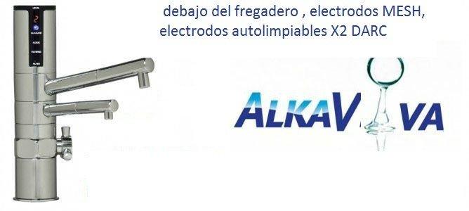 ionizador del agua debajo del fregadero ULTRA-DELPHI IO400U-electrodos MESH, electrodos autolimpiables X 2 DARC