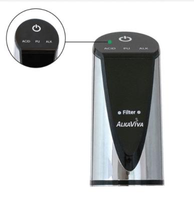 ionizator apa AlkaViva Delphi H2 sus