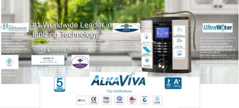 AlkaViva world leaders water ionizers