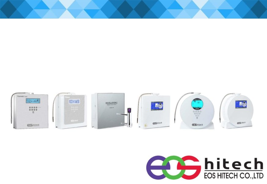 ionizatoare de apa EOS HITECH