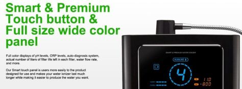prime 901 R water ionizer display panel