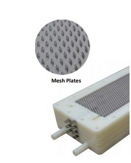 prime water ionizer MultiLevel water cell with MESH electrodes