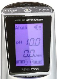 EOS-Revelation II-Water ionizer display