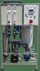sistem filtrare apa osmoza inversa industrial RO
