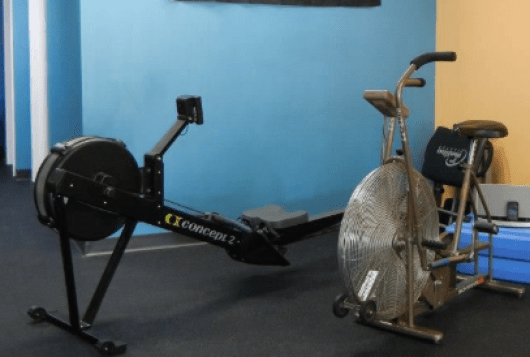 concept 2 rower vs airdyne