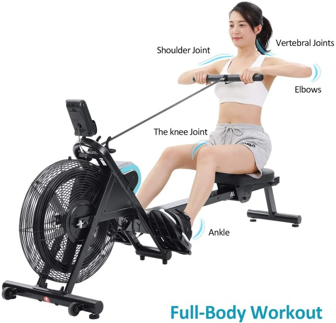 MaxKare Air Rowing Machine Review