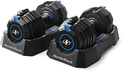 NordicTrack dumbbells