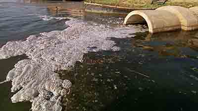 sewage water pollution