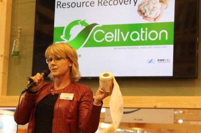 Marit van Veen van Cirtec presenteert Cellvation