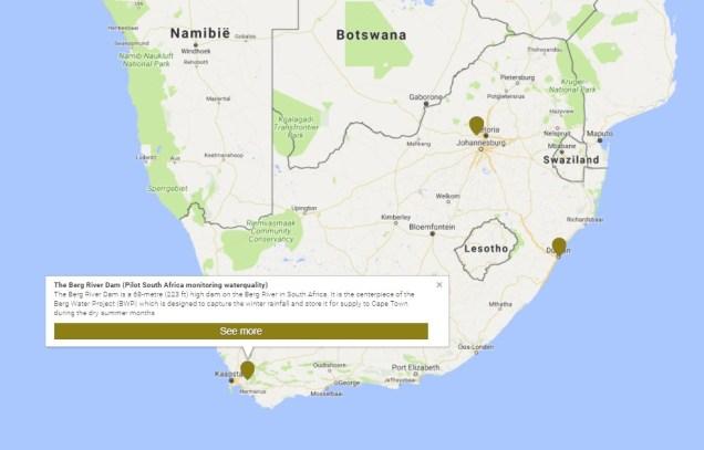 INDYMO gaat op 3 lokaties in Zuid Africa meten: Durban, Cape town en Pretoria