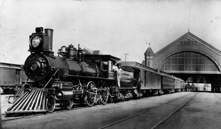 Inside Museum Pennsylvania Railroad