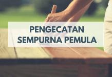 Belajar Finishing Furnitur Untuk Pemula