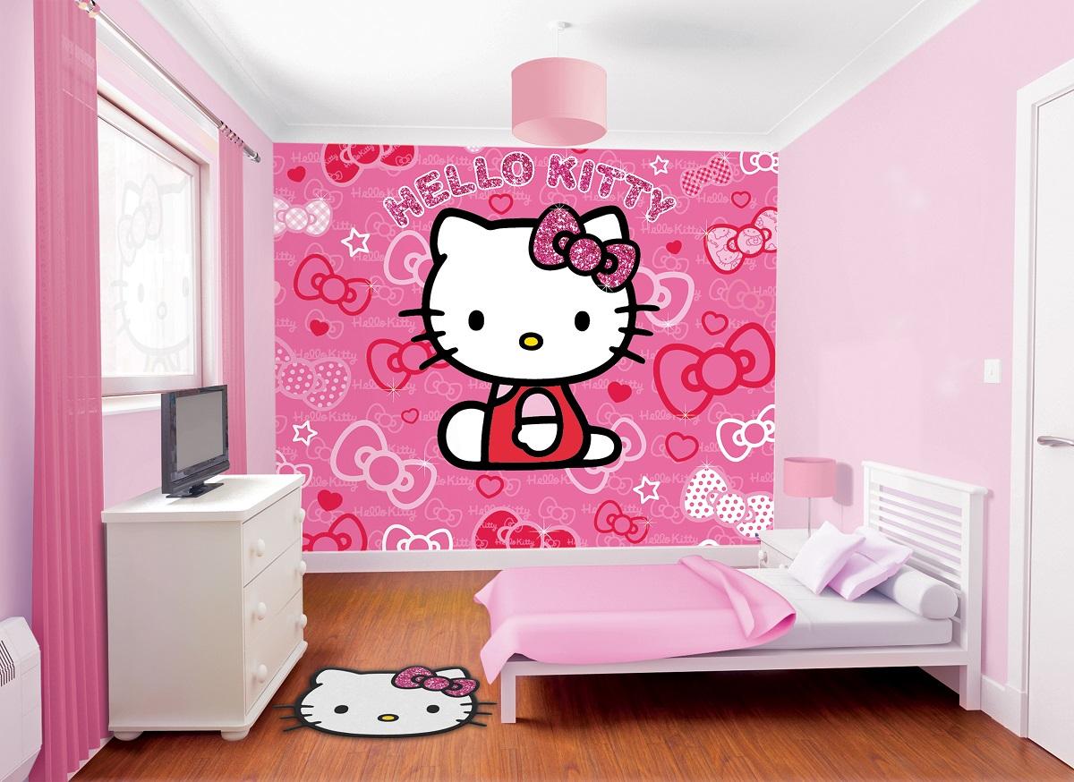 Cara Mendesain Kamar Tidur Anak Perempuan Hello Kitty - Waterbased Wood  Coating