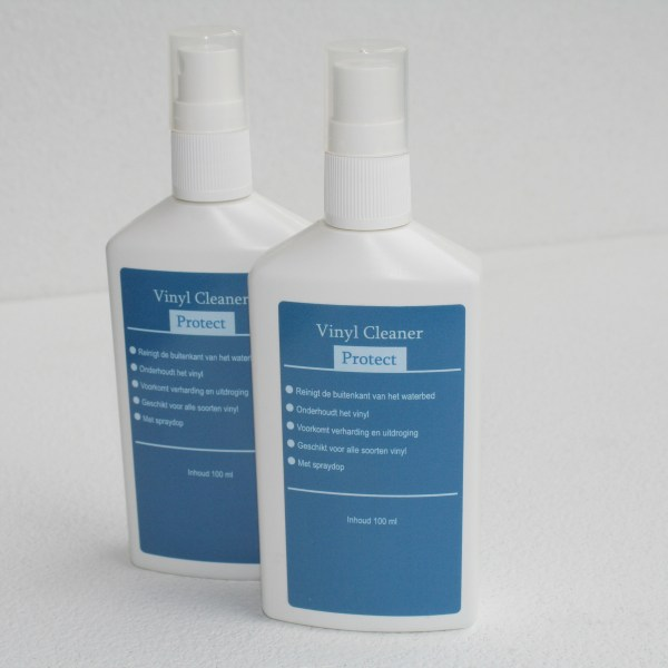 2 vinyl cleaner flesjes