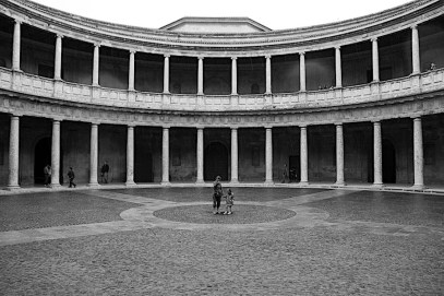 Palace of Charles V in Granada