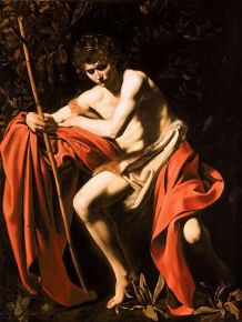 St John the Baptist in the Wilderness by Caravaggio