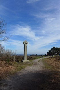 A cross to keep away the ghosts from Gibbets Hill