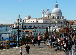 The Molo with the view of Sta Maria della Salute, Venice