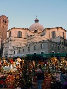 Street market, Venice