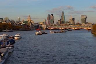 Thames sunset St Paul's P1030982