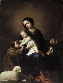 The Virgin and Child with the Infant St John the Baptist, Bilbao Fine Arts Museum