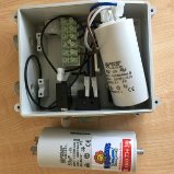 Start capacitor and start box
