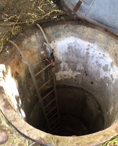 Old style Bedford bore replaced with new water bore