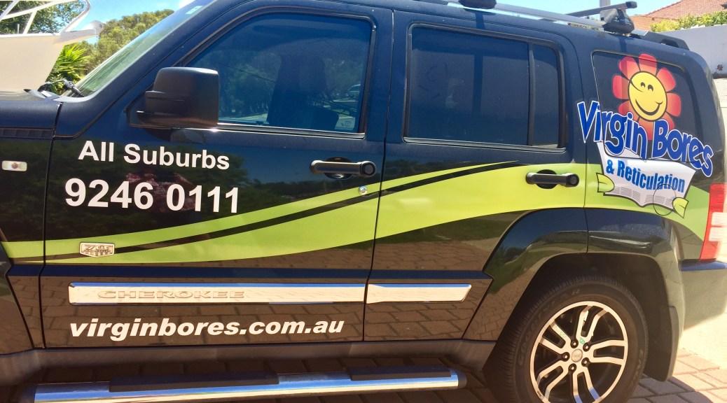 Virgin bores & reticulation all suburbs Perth
