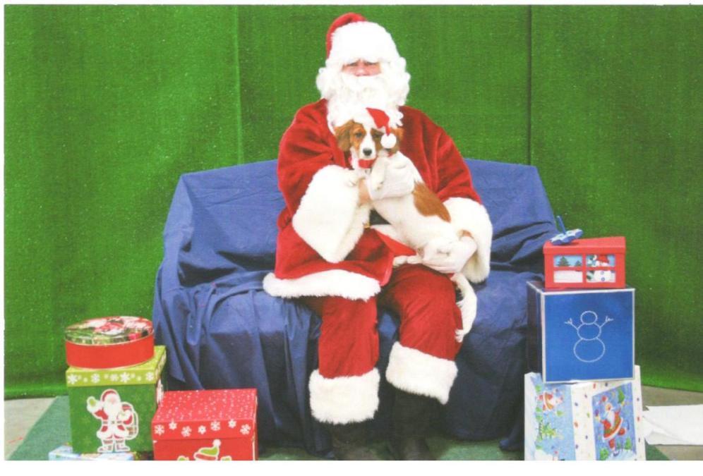 """Spirit"" with Santa"