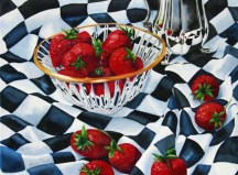 Karen Frattali, Strawberries And Cream