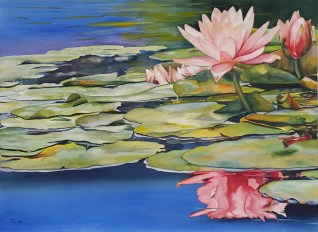 Deborah Guy, Waterlilies Award: Juried Members Award