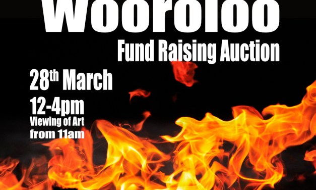 Art for Wooroloo Fund Raising Auction