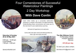 Dave Conlin - 2 Day Workshop - 29 & 30 May 2021