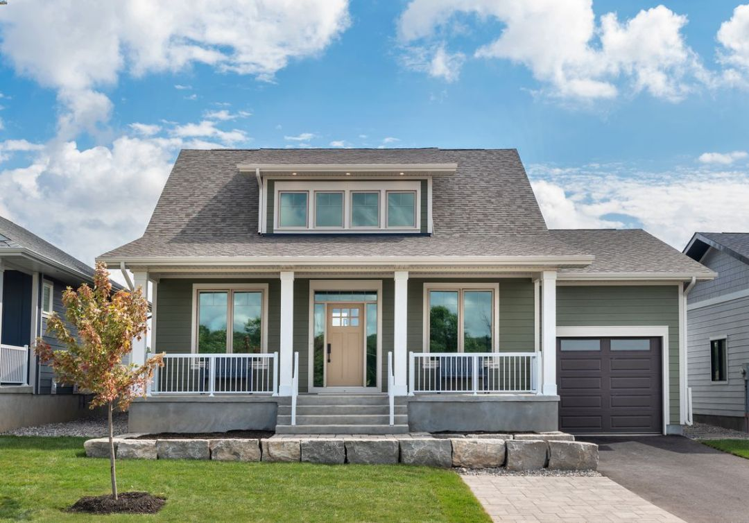 The Rideau Bungalow with a loft at Watercolour Westport.