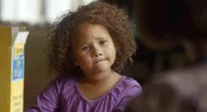cheerios ad little girl