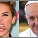 Miley Cyrus Lost Time's 'Person of the Year' to Pope Francis…Der is a Gawd