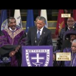 "Video: President Obama's ""Amazing Grace"" Eulogy for the Emanuel Nine"