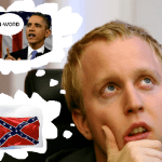 Racist Flags, President Obama's N-Word, and White Race Confusion