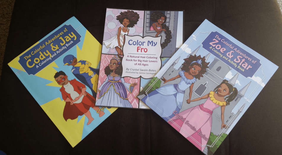 3 Coloring and Activity Books for the Carefree Black Kids In Your ...